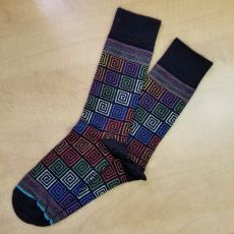 SPECIAL Inca Collection Alpaca Sock - Art Walk