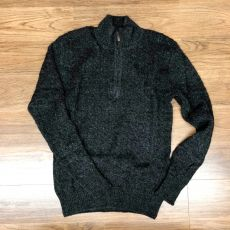 NEW Men's Trenza Half Zip Sweater